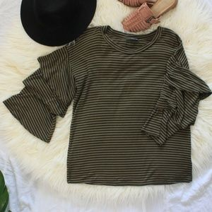 West Kei - Olive Green Top
